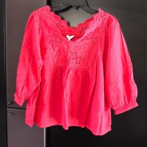Crown & Ivey Small (medium fit) blouse